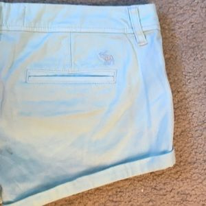 Light blue Abercrombie shorts